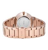 Cluse Cluse CW0101203027 Horloge Minuit Silver/Rosé