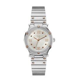 GC GC Y60001L1MF Horloge Sport Chic Staal/Rose