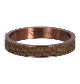 iXXXi iXXXi R05405-09 17 Ring Cobra Rosékleurig Maat 17