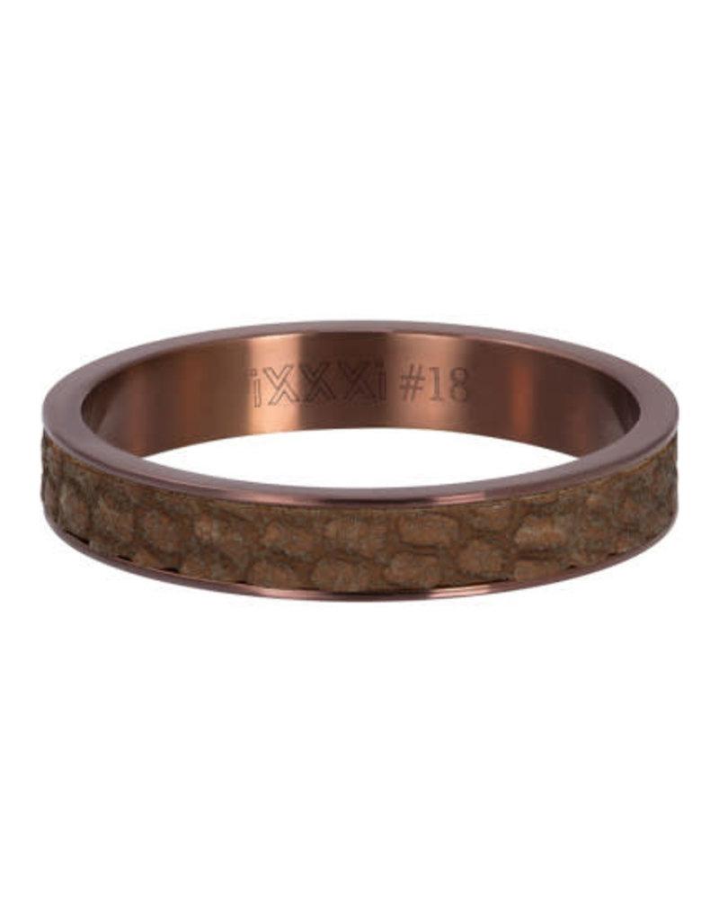 iXXXi iXXXi R05405-09 18 Ring Cobra Rosékleurig Maat 18