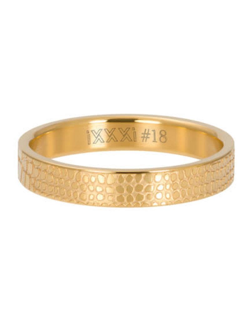 iXXXi iXXXi R05408-01 20 Ring Giraffe Goudkleurig Maat 20