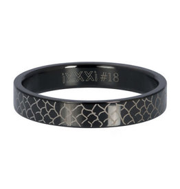 iXXXi iXXXi R05503-05 17 Ring Black Snake Maat 17