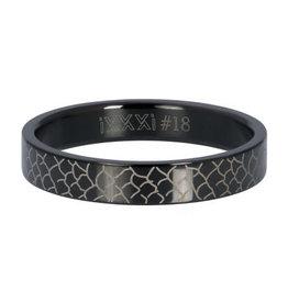 iXXXi iXXXi R05503-05 18 Ring Black Snake Maat 18