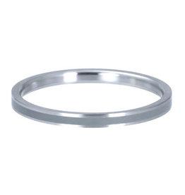 iXXXi iXXXi R02314-04 17 Ring Line Grey zilver kleur Maat 17
