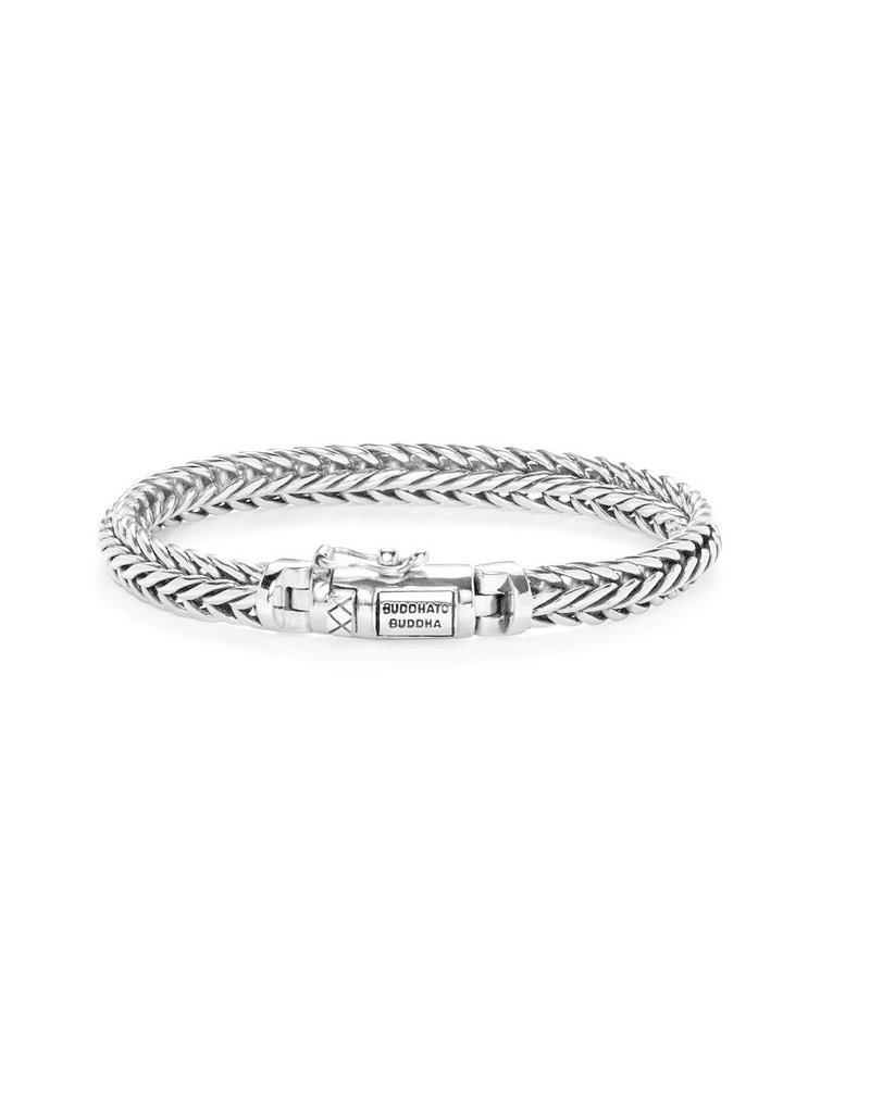 Buddha to Buddha BtoB J065 C+ Armband Nurul XS Silver - Maat  17cm