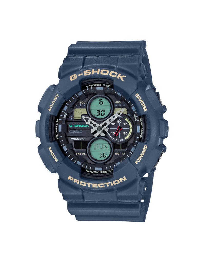 Casio G-Shock GA-140-2AER Horloge AnaDigi
