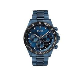 Hugo Boss Hugo Boss HB1513758 Horloge Heren Hero Blauw Staal Chrono