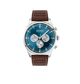 Hugo Boss Hugo Boss HB1513709 Horloge Heren Pioneer Leer Chrono