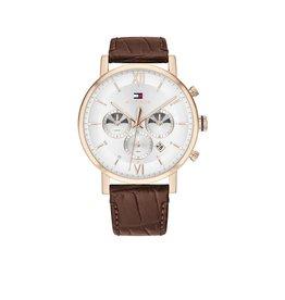 Tommy Hilfiger Tommy Hilfiger TH1710394 Horloge Heren Evan Rosé Dual Timer