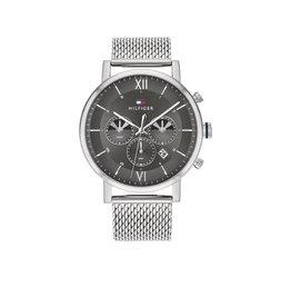 Tommy Hilfiger Tommy Hilfiger TH1710396 Horloge Heren Evan Mesh Dual Timer