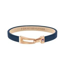 Tommy Hilfiger Tommy Hilfiger TJ 2790054 Armband Bridle Leer Rosé 20cm