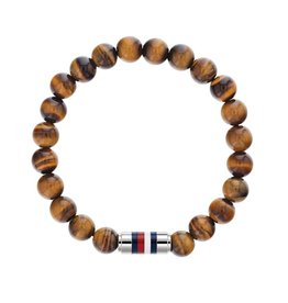 Tommy Hilfiger Tommy Hilfiger TJ2790067 Armband Beads Bruin Staal