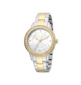 Esprit Esprit ES1L163M0145 Horloge Dames Harmony Silver/Gold