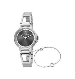 Esprit Esprit ES1L146M0015 Horloge Brace Black Staal