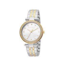 Esprit Esprit ES1L153M0095 Horloge Fine Silver/Gold