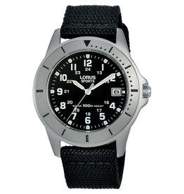 Lorus Lorus RS935DX-9 Horloge Heren Nylon Zwart