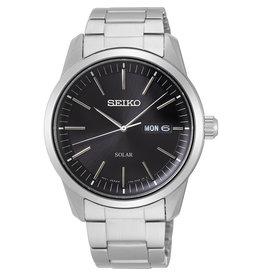 Seiko Seiko SNE527P1 Horloge Heren Staal Solar Zwart