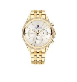 Tommy Hilfiger Tommy Hilfiger TH1781977 Dames horloge Ari Gold