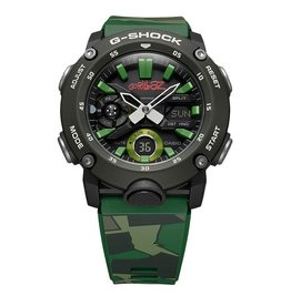 Casio Casio G-Shock GA-2000GZ-3AER Horloge Anadigi Limited editon Gorillaz