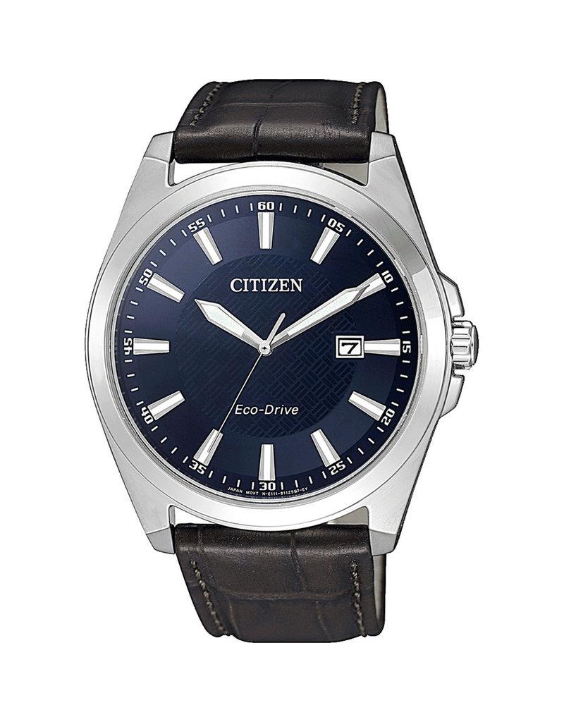 Citizen Citizen BM7108-22L Horloge Heren Ecodrive Leer Bruin