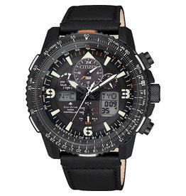 Citizen JY8085-14H Horloge Heren Promaster Sky Zwart Eco Drive Radio Controlled