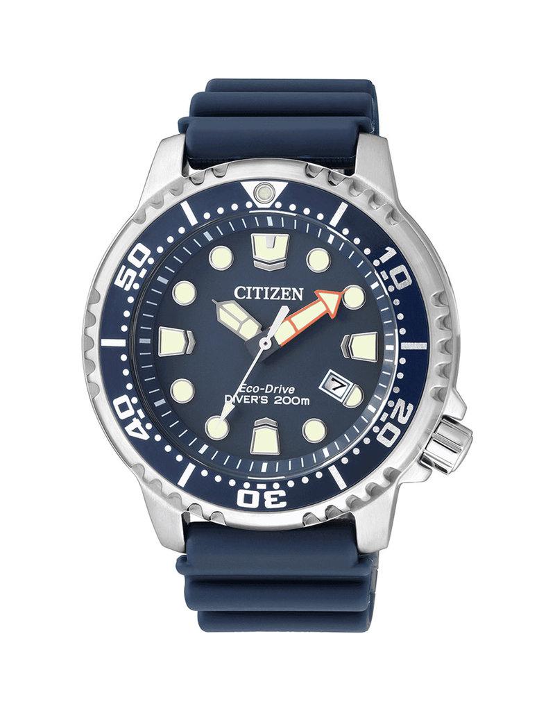 Citizen BN0151-17L Horloge Promaster Diver Ecodrive Blauw