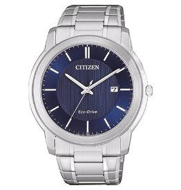 Citizen Citizen AW1211-80L Horloge Heren Ecodrive Staal Blauw