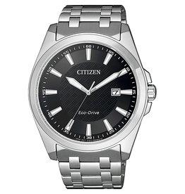 Citizen BM7108-81E Horloge Heren Ecodrive Staal Zwart