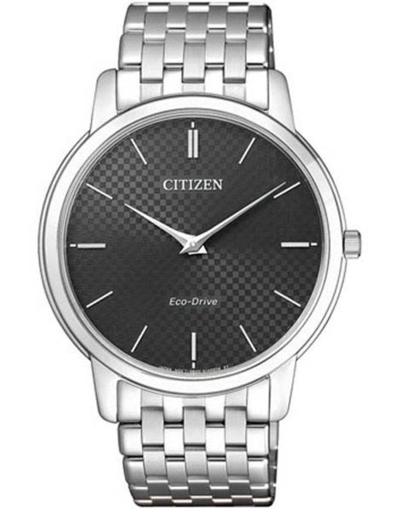 Citizen AR1130-81H Horloge Elegance Heren Ecodrive Staal Zwart