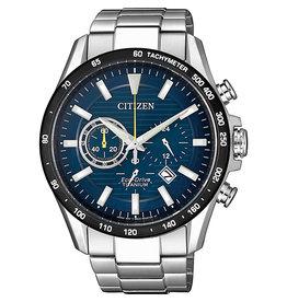 Citizen CA4444-82L Horloge Heren Ecodrive Chrono Super Titanium