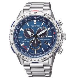 Citizen Citizen CB5000-50L Horloge Heren Promaster Sky Ecodrive Radio Controlled Staal Blauw