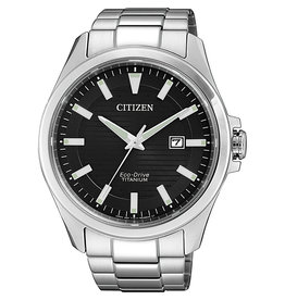 Citizen Citizen BM7470-84E Horloge Heren Ecodrive Super Titanium Zwart