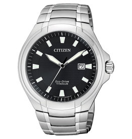 Citizen Citizen BM7430-89E Horloge Heren Ecodrive Super Titanium Zwart