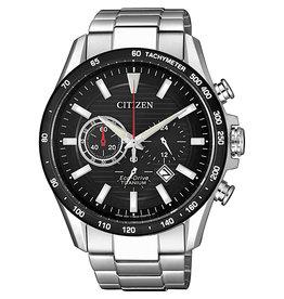 Citizen Citizen CA4444-82E Horloge Heren Ecodrive Super Titanium Chrono Zwart