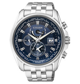 Citizen AT9030-55L Horloge Heren Ecodrive Radio Controlled Staal Blauw