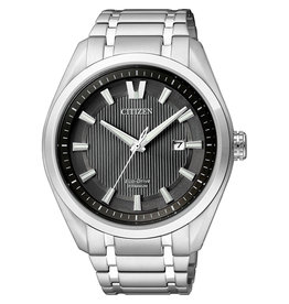 Citizen Citizen AW1240-57E Horloge Heren Ecodrive Super Titanium Zwart