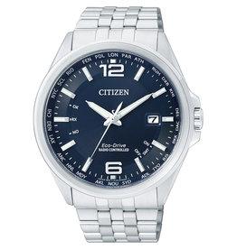 Citizen Citizen CB0010-88L Horloge Heren Ecodrive Radio Controlled Staal Blauw