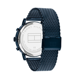 Tommy Hilfiger Tommy Hilfiger TH1710397 Horloge Evan Mesh Staal blauw