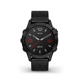 Garmin Garmin 010-02158-17 Smartwatch Fenix 6,Sapphire, Nylon Strap, GPS