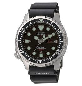 Citizen NY0040-09EE Horloge Promaster Sea Automatic Zwart