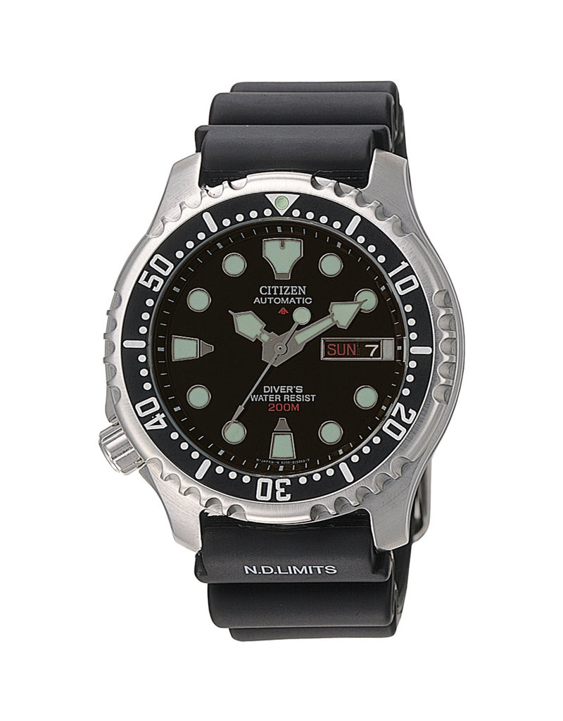 Citizen NY0040-09EE Horloge Promaster Diver Automatic Zwart