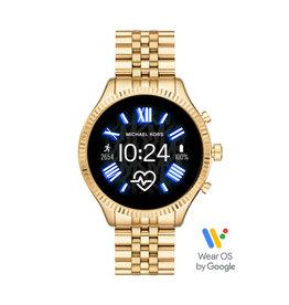 Michael Kors Michael Kors MKT5078 Smartwatch Lexington Gen5 Staal goud verguld