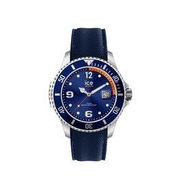 Ice Watch Ice Watch IW017325 Horloge Ice Steel XL Navy Orange
