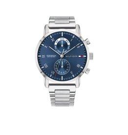 Tommy Hilfiger Tommy Hilfiger TH1710401 Horloge Heren Staal Blauw Multi functie