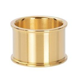 iXXXi iXXXi R07401-01 Basis Ring 14mm Goudkleur Maat 18