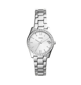 Fossil Fossil ES4317 Horloge Dames Staal Zirkonia