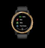 Garmin Exclusive Garmin 010-02173-32 Venu Smartwatch Black/Gold Gps, Wifi