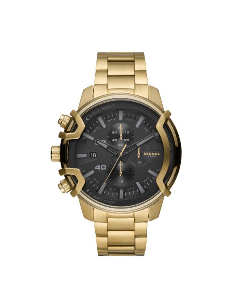 Diesel Diesel DZ4522 Horloge Heren Staal Goldplated Chrono