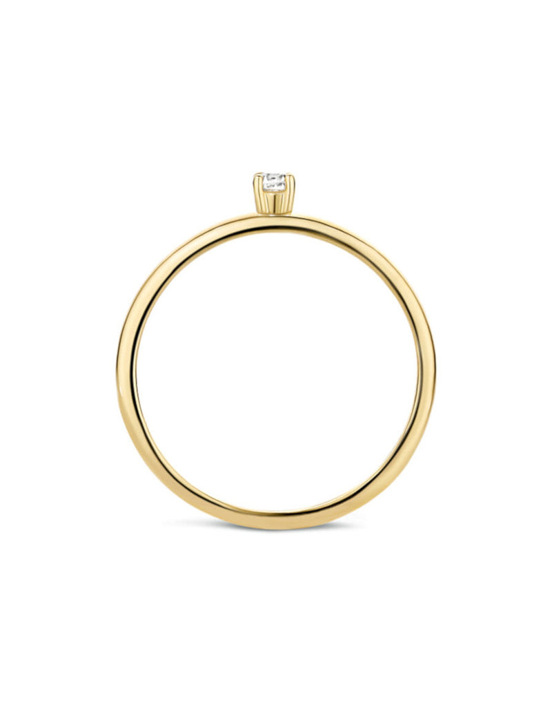 Blush Blush 1200YZI/52 Ring 14Krt Goud met Zirkonia