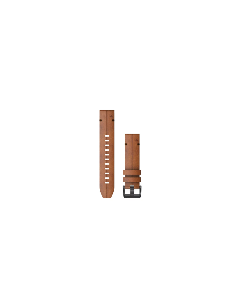 Garmin Garmin 010-12863-05 Horlogeband 22mm Leer Chestnut  Bruin 22mm